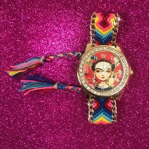 """Accessories - """"NEW"""" Cute FRIDA KAHLO watch ❣️⌚️"""
